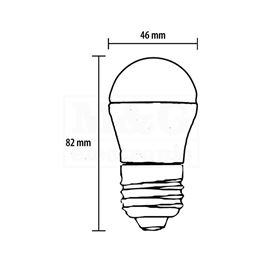 Slika za SIJALICA LED LS-G45-CW-E27/5